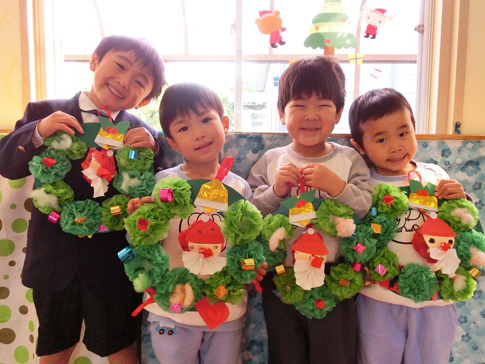 鹿児島第一幼稚園 12月